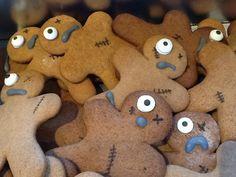 Zombie cookies, www.sweetfoodomine.com
