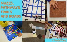 WonderWorks: Mazes, trails, pathways and roads : library makers