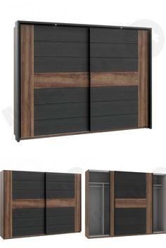 Prosta forma i nowoczesny wygląd. Szafa Bellevue jest przedstawicielem takich rozwiązań. Wykonana z solidnych i trwałych materiałów. Posiada wiele półek, które umożliwiają segregację odzieży, co staje się przydatne przy posiadaniu dużej ilości ubrań w garderobie. The straight form and the modern appearance. The Bellevue wardrobe is a representative of such solutions. Made of reliable and durable materials.  #wardrobe #bedroom #mirjan24 #szafa #sypialnia #home #dom