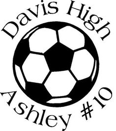 Soccer Car Decal personalized by wordcandyvinyl