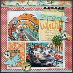 Susan Stringfellow, disney scrappers Primeval Whirl
