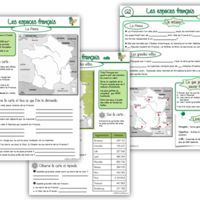 Géographie CE2 : La France