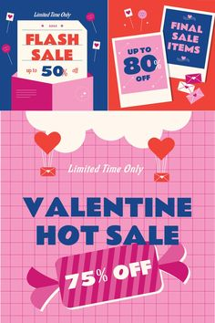 Valentine's Day Sale Banners by Graphicook available on Envato Elements. This Product Includes Ai : Compatible files for Adobe Illustrator CC. PSD : Compatible files for Adobe Photoshop CS4, CS5, CS6. Help File.
