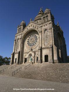 VIANA DO CASTELO-PORTUGAL: Santuário de Santa Luzia