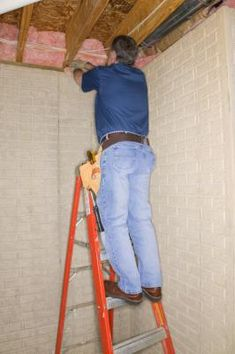 The cheapest way to insulate a building such as a house is when it's under construction and walls and ceilings are open. The cheapest material will depend on how much insulation is needed and where . Cheap Insulation, Fiberglass Insulation, Types Of Insulation, Insulation Materials, Wall Insulation, Insulation Installation, Installing Shiplap, Whole House Fan, Attic Spaces