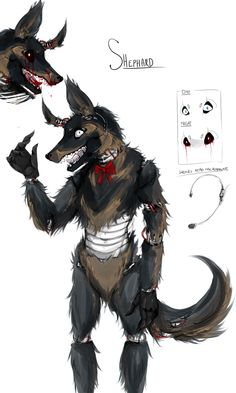 My Oc animatronic Shepard! Does anyone have a deviant arts account? Fnaf Drawings, Animal Drawings, Fnaf Oc, Fnaf Wallpapers, Furry Oc, Fnaf Characters, Anime People, Five Nights At Freddy's, Pretty Cool
