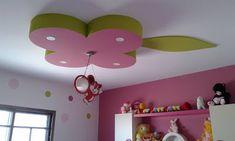 Home Decor: Girls And kids Room gypsum Bouard Decor Drawing Room Ceiling Design, Pop False Ceiling Design, Design Exterior, Interior Design, Tv Unit Furniture, Bedroom Decor Lights, Indian House Plans, Girls Bedroom, Kids Room