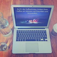 Kaffee + Freunde = Liebe    #freunde #friends #freundschaft #kaffeeliebe # kaffee #brandillame #friendship #coffee #in #love #with marketing #kreuzberg #shotoniphone #fakt #kaffeefakt #info #takeawaymarketing #startup #startuplife #mittwoch #liebe #love #lovefriends #makegorillasgreatagain