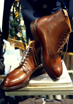 Fashion Men's Shoes on the Internet. Crockett & Jones Flattip. #menfashion #menshoes #menfootwear