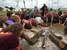 The closing ceremony prayers for Mother Earth at Spirit Fest 2016. This year 31Aug-3Sept in Glocs. #spiritfestuk