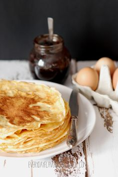 EVERYDAY FLAVOURS: Pancakes.