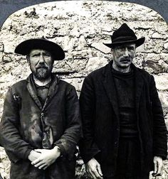 Two fishermen from Claddagh, an area close to the center of Galway, pose for the photograph in - Matt Loughrey / My Colorful Past Wild Atlantic Way, Irish People, Old Irish, Irish Eyes Are Smiling, Erin Go Bragh, Connemara, Emerald Isle, Claddagh, Going Home