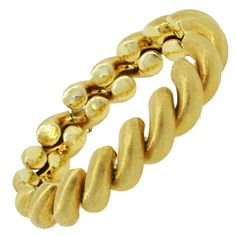 9c029b494311c 61 Best Chunky gold bracelets images in 2019 | Gold bangles, Gold ...