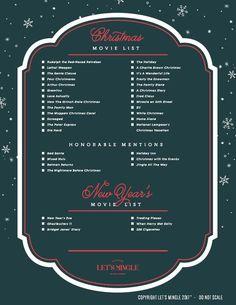 Printable Christmas Movie List