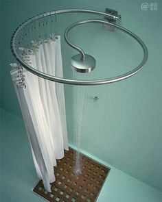 Real space saver and yet stylish shower