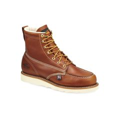 Thorogood American Heritage Men's Moc-Toe Work Boots, Size: 8 Med D, Brown