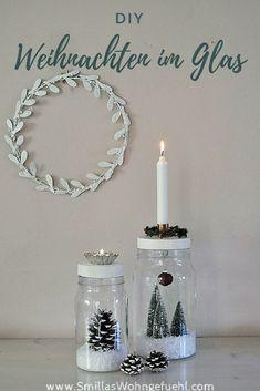 Weihnachtsdeko selber machen: Weihnachten im Glas, ein kleines DIY Christmas Time, Christmas Crafts, Xmas, Mason Jar Crafts, Mason Jars, Diy 2018, Diy Natal, Navidad Diy, 242