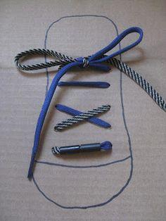 Tips for teaching shoe tying