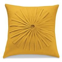 i want a light gray couch with yellow pillows, please. #home #decor #modern