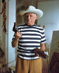 Pablo Picasso 1958  #fourtillfour #thedesertcabin #pablopicasso