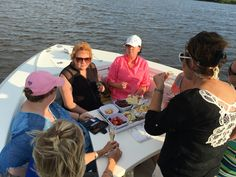 2016 Cobia 296 #knottydawg #296 #cobia #cobiaboats #cobia296 July 2016 Ladies Night Out #dinner #party #dinneronboat #cocktail #cruise #sunet #cheese #ladies
