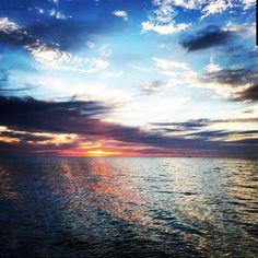 Peaceful Lake Michigan