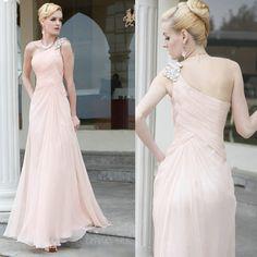 Couture Pink One Shoulder Second Wedding Bridal Engagement Party Dress SKU-122392