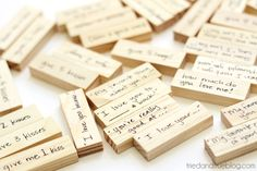 Valentine's Day Tumble Game - Write sayings