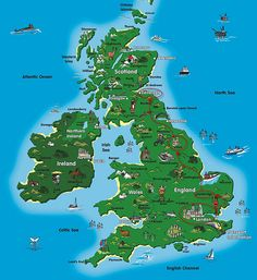 good map of the UK!