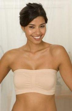 La Leche League Strapless Nursing Bra in nude is a bestseller, wear under all your favorite nursing tops and dresses.