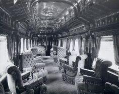 Pullman car interior 1893
