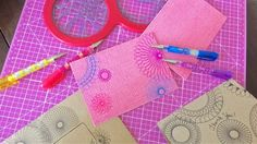 The Cheese Thief: Spirograph Thank You Cards  Love this card making idea!  Great to make with kids.