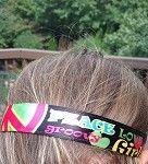 One Up Peace Love Girls Non Slip Headband