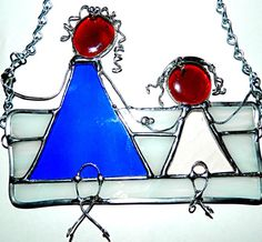 Stained Glass Grand Mother & Grand Daughter by GrammysGlitter
