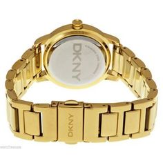 Women's Gold-Tone DKNY Tompkins Stainless Steel Watch NY2272