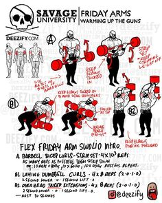 #SavageUniversity #FlexFriday Get Your Arms Pumped With A Bang. Class is in session, Mother Lovers. Respect to those grinding it out in the gym on a Friday. Real work happens Friday to Sunday when the non-Savages need their resty-poo. Got a Savage...