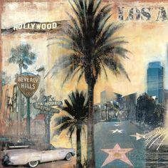 Los Angeles I Art Print at AllPosters.com