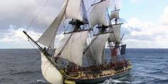 """""""CBS News' Mark Phillips reports on how after 235 years, the Marquis de Lafayette's frigate of freedom will be returning to America on an authentic, historical voyage!"""""""