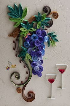 Quilling cart