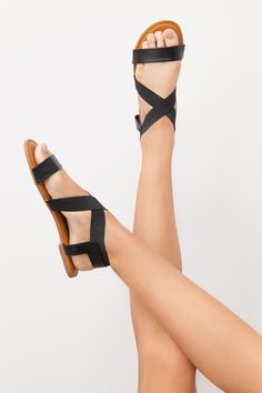 Sneak Peek Sandals in Black Size 6 Sold out online, but you might be able to find them in stores