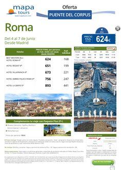 Roma Puente del Corpus salida Madrid **Precio Final desde 624** ultimo minuto - http://zocotours.com/roma-puente-del-corpus-salida-madrid-precio-final-desde-624-ultimo-minuto-2/