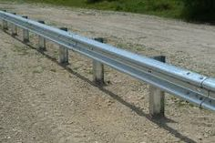 Get Gates & Fence It - Crash Barriers Galvanized Steel Sheet, Galvanized Metal, Metal Beam, Animation 3d, Rail Guard, Interior And Exterior, Beams, Architecture Design, Industrial