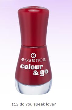 #essence #oje #red