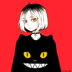 Kenma + cat sweatshirt - Haikyuu!