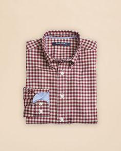 Brooks Brothers Boys' Gingham Shirt - Sizes Xs-xl