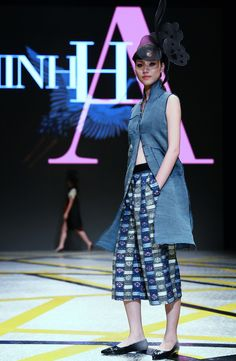 Vietnam Fashion Week SS16 - Ready to wear. Designer: Minh Hanh. Photo: Cao Duy