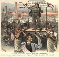 The rise of monopolies in the 19th century