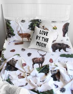 The Club of Odd Volume - Woodlands DOUBLE BED sheet set