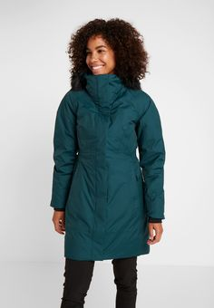 The North Face ARCTIC - Dunkåpe / -frakk - ponderosa green - Zalando. Sissi, Arctic, Canada Goose Jackets, The North Face, Winter Jackets, Urban, Black, Fashion, Raincoat