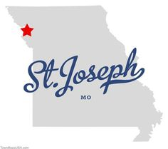 Where the heck IS St. Joseph, MO? HERE WE ARE! www.stjomo.com